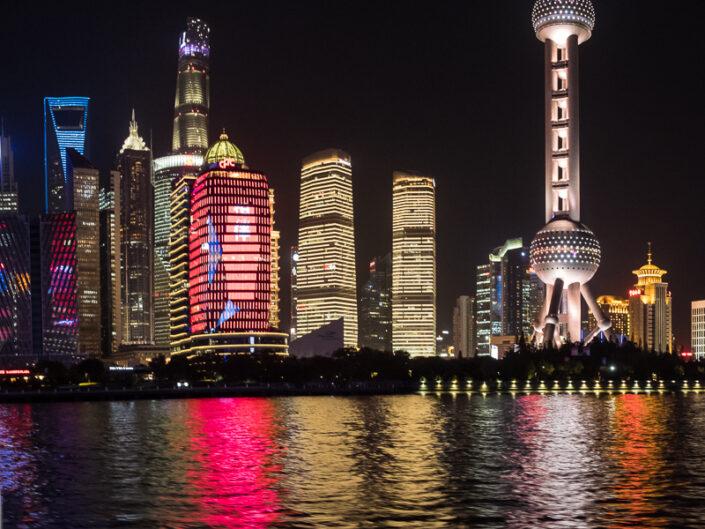 Shanghai Bund – November 2017